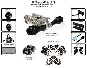 Kit Slider Xj6n 13 a 19 Procton ( 11 peças )