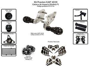 Kit Slider Xj6f 10 a 19 Procton ( 10 peças )