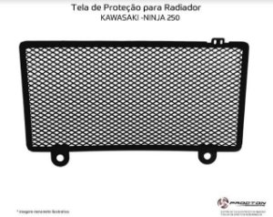 Protetor de radiador Kawasaki NINJA 250