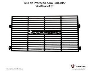 Protetor de radiador YAMAHA MT07 15/19