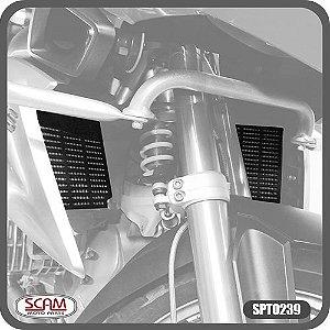 Protetor de radiador BMW R1200GS 13> (PAR) Scam