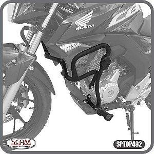 Protetor de Motor Carenagem CB TWISTER 250 16> C/PEDALEIRA