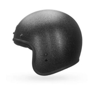 CAPACETE BELL CUSTOM 500 SOLID BLACK FLAKE