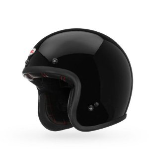 CAPACETE BELL CUSTOM 500 SOLID BLACK