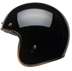 CAPACETE BELL CUSTOM 500 RALLY GLOSS BLACK BRONZE