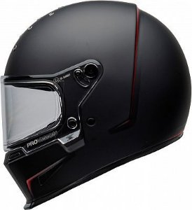 CAPACETE BELL ELIMINATOR VANISH MATTE BLACK RED
