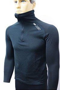 Camisa Segunda Pele WARM Mais Grossa Com Zíper