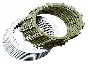 Kit Discos Embreagem + Separadores V-strom 04-15 Dl650
