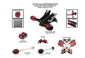 Kit Slider Cbr 600rr 2008 Procton (4peças)
