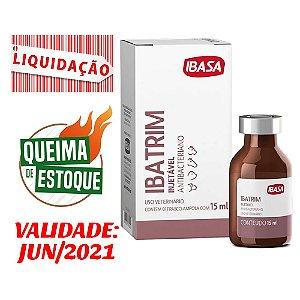 Ibatrim Ibasa 15ml VAL: JUN/2021 - Liquidação