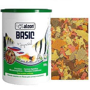 Ração Peixes Ornamentais Alcon Basic Large Flakes 150g
