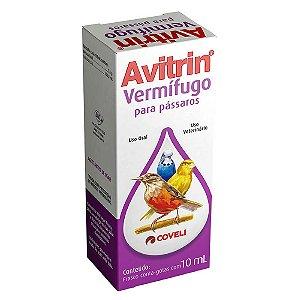 Avitrin Vermífugo 10ml - Coveli