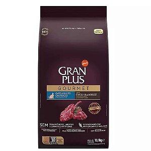 Ração GranPlus Gourmet Gatos Castrados Ovelha 10 pct ind 1kg