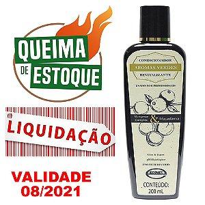 Condicionador Aromas Verdes Revitalizante 200ml - LIQUIDAÇÃO