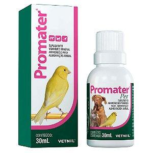 Suplemento Promater 30ml - Vetnil