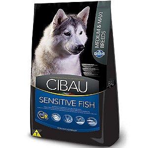 Ração Cibau Fish Cães Raças Médias e Grandes 12Kg - Farmina