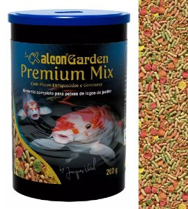 Ração Peixes Ornamentais Alcon Garden Premium Mix 200g