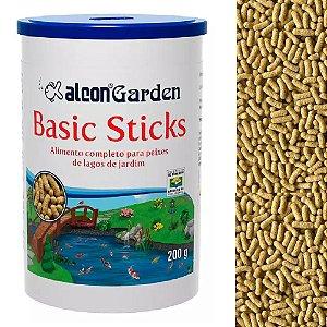 Ração Peixes Ornamentais Alcon Garden Basic Sticks 200g