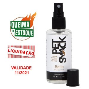 Perfume Pet Smack Belle 50ml Para Cães e Gatos (VAL: 11/21)