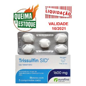 Trissulfin SID 1600mg Blister 5 Comprimidos (VAL: 10/21)