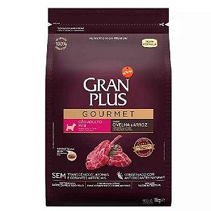 Ração GranPlus Gourmet Cães Mini Ovelha e Arroz 1kg