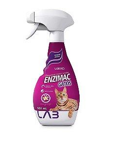 EnziMac Gatos Eliminador De Odores E Manchas 500ml - Labgard