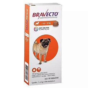 Bravecto comprimido Para Cães 4,5 A 10kg - Antipulgas e Carrapatos