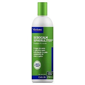 Shampoo Dermatológico Sebocalm Spherulites 250ml - Virbac