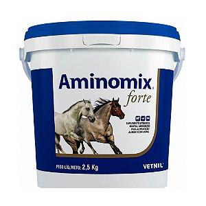 Suplemento Vitamínico Aminomix Forte 2,5kg - Vetnil