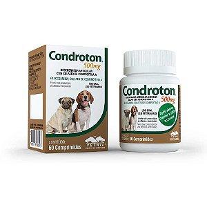 Suplemento Condroton 500mg 60 Comprimidos - Vetnil