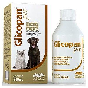 Suplemento Vitamínico Glicopan Pet 250ml - Vetnil