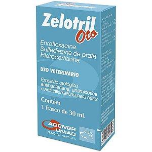 Emulsão otológica Zelotril Oto 30ml - Agener União