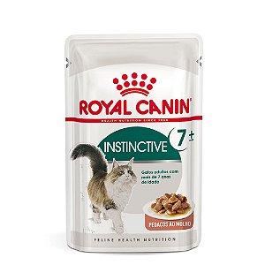 Alimento Úmido Para Gatos Sachê Acima 7 Anos Instinctive 7+ 85g - Royal Canin