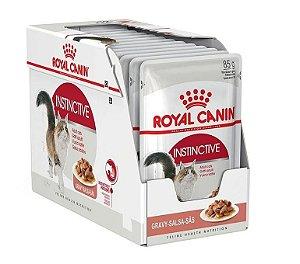 Alimento Úmido Para Gatos Sachê Instinctive Combo 12un 85g Cada - Royal Canin
