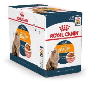 Ração Úmida Royal Canin Gatos Intense Beauty Wet Combo 12un 85g Cada