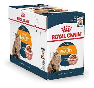 Alimento Úmido Para Gatos Sachê Intense Beauty Combo 12un 85g Cada - Royal Canin