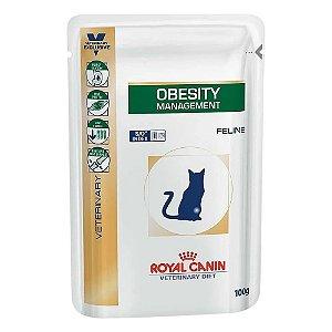 Alimento Úmido Para Gatos Sachê Terapêutico Obesity 100g - Royal Canin