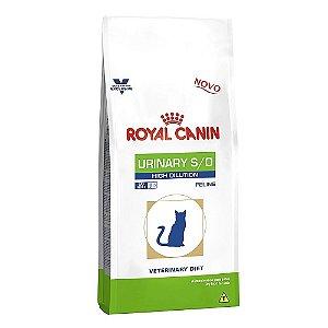 Alimento Para Gatos Terapêutico Urinary High Dilution 7,5g - Royal Canin