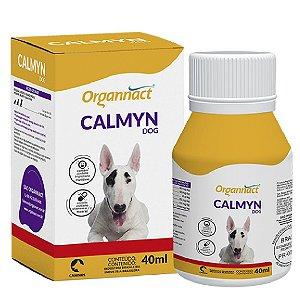 Suplemento Vitamínico Calmyn Dog 40ml - Organnact
