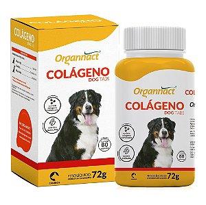 Suplemento Vitamínico Colágeno Dog Tabs 72g - Organnact