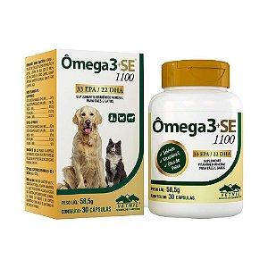 Suplemento Vitamínico Ômega 3+SE 1100 30 Cápsulas - Vetnil