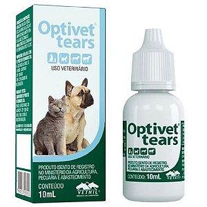 Colírio Lubrificante Optivet Tears 10ml - Vetnil