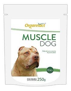 Suplemento Muscle Dog Massa Muscular 250g - Organnact