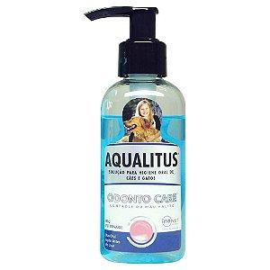 Aqualitus 100ml Ajuda No Controle Do Mau Hálito - Inovet