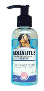 Aqualitus 250ml Ajuda No Controle Do Mau Hálito - Inovet