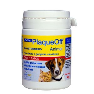 Plaqueoff Auxílio Da Eliminação Das Placas 40g - Inovet