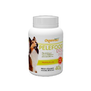 Suplemento Vitamínico Pelefood Dog Tabs 40g - Organnact