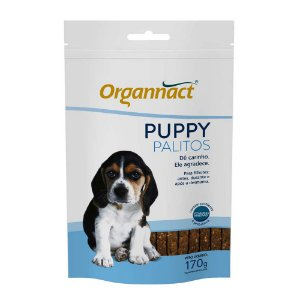 Suplemento Vitamínico Puppy Dog Palito Sachê170g - Organnact
