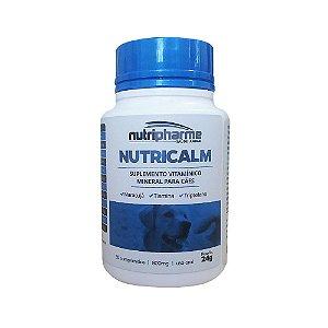 Suplemento Vitamínico Nutricalm 24g 30 Comprimidos - Nutripharme
