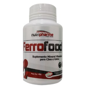Suplemento Vitamínico Ferrofood 60 Comprimidos - Nutripharme